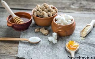 Как определить есть ли в меде сахар?