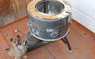 Процесс создания воскотопки из стиральной машины