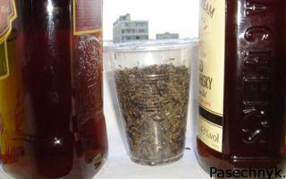 Рецепт настойки из прополиса на водке