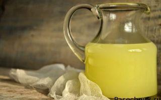 Молочная сыворотка: лечение пчел от гнильца