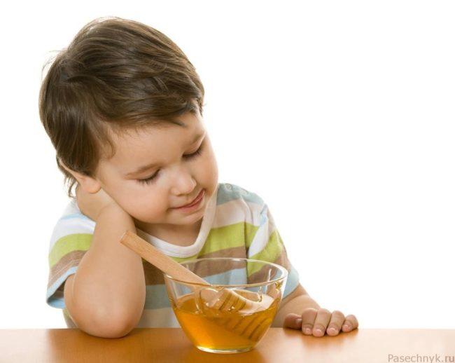 мед и дети