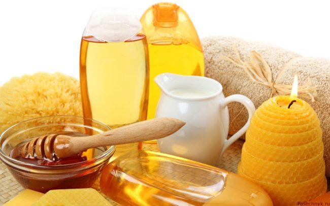 мед для бани