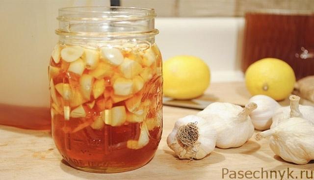 яблочный уксус мед и чеснок