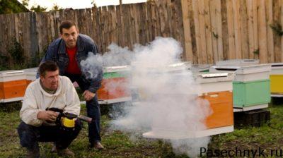 обработка дым пушкой варомор