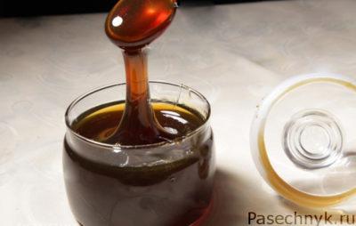 каштановый мед в банке