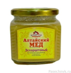 мед из эспарцета