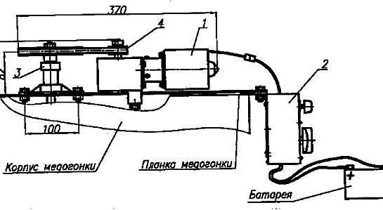 конструкция електропривода