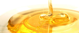 мед на тарелке