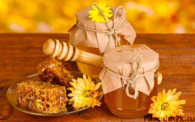 мед в банке и в сотах