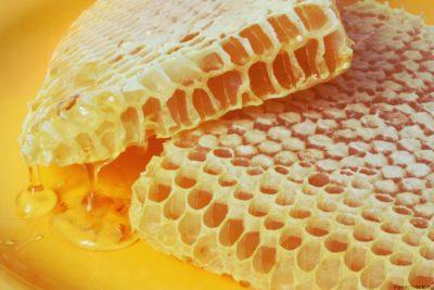 липовий мед в сотах