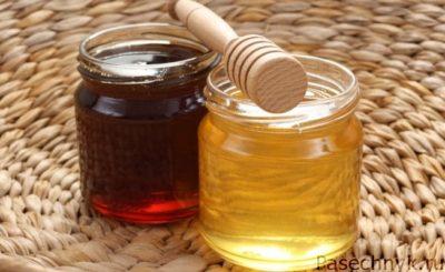 гречишный мед в банках