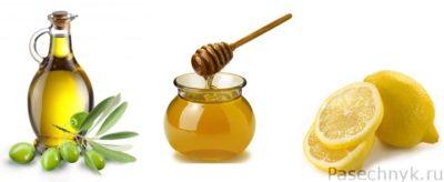 оливковое масло мед лимон