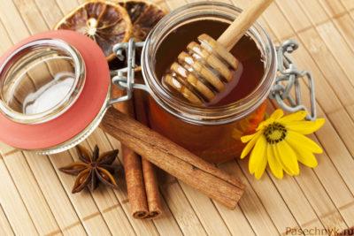 мед и корица для похудения