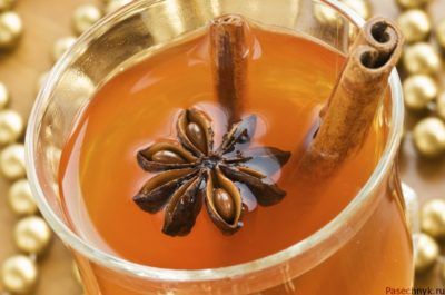 Пунш с медом и ромом