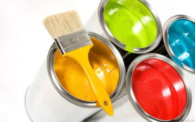 Разновидности красок