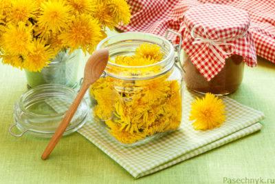 одуванчики и мед