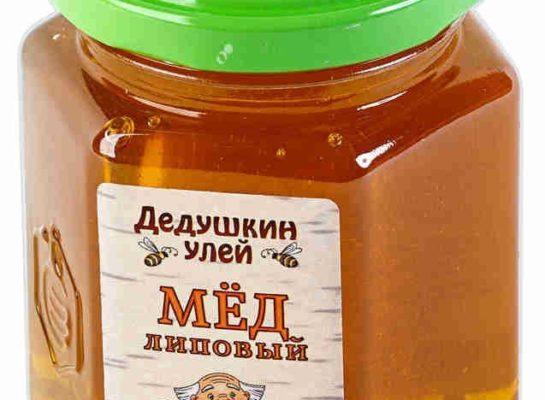 мед из липы в банке
